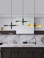 cheap -34 cm LED Pendant Light Nordic Tricolor Light Island Light Metal Painted Finishes Modern 110-120V 220-240V