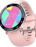 cheap -smart watch fitness tracker for women men, waterproof activity tracker watches with heart rate monitor step counter sleep tracker call message reminder smartwatch compatible android samsung ios phones