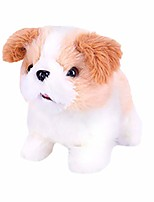 cheap -plush toy electronic pet dog electric simulation interactive puppy children's toy - walking, barking, tail wagging, stretching companion animal gifts for kids