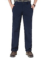 cheap -men's lightweight breathable waterproof quick dry elastic waist hiking pants outdoor cargo pants for fishing camping (navy, us m(label 2xl))