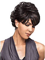cheap -bianca wig color om3527 - foxy lady wigs short pixie wavy textured layers synthetic wispy bangs african american women's machine wefted lightweight average cap bundle maxwigs hairloss booklet