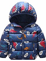 cheap -kids winter jacket hooded coat warm waterproof lightweight tops outfits 2-3 years