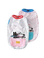 cheap -Dog Shirt / T-Shirt Vest Animal Printed Elegant Cute Casual / Daily Dog Clothes Puppy Clothes Dog Outfits Breathable Red Blue Costume for Girl and Boy Dog Cotton S M L XL XXL 3XL