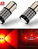 cheap -antline newest 1157 led bulb flash strobe red (2 pack), 9-30v super bright 1600 lumens 2057 2357 7528 bay15d 52-smd led with projector for replacement, flashing strobe brake tail stop light bulbs