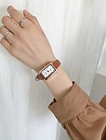 cheap -Women's Quartz Watches Quartz Modern Style Stylish Antique Military Analog White+Coffee White Black / PU Leather