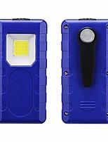 cheap -, camping lantern camp cob lamp work light portable waterproof outdoor camping emergency lights multifunction flashlight (blue)