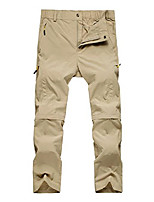 cheap -men's hiking 2-in-1 outdoor quick dry fast convertible walking trousers 2x-large khaki