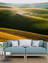 cheap -Wall Tapestry Art Deco Blanket Curtain Picnic Table Cloth Hanging Home Bedroom Living Room Dormitory Decoration Polyester Fiber Plant Series Grass Flock