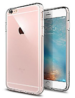 cheap -iphone 6s plus case,  [ultra hybrid] air cushion [crystal clear] clear back panel + tpu bumper for iphone 6 plus (2014) / 6s plus (2015) - crystal clear (sgp11644)