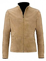 cheap -mens specter bond morocco daniel blouson brown suede leather jacket