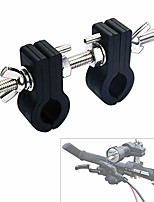 cheap -mount bracket fb362 uses of aluminum material, adjustable open clips special for big size bicycle light, 360 degree rotation clips holder and butterfly nuts easy to fit and release (fb362)