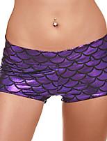 cheap -Women's Sporty Comfort Gym Yoga Shorts Pants Patterned Short Print Black Blue Purple