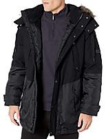 cheap -men's maxfield hooded down jacket, black, small