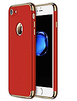 cheap -iphone 7 case/iphone 8 case,  iphone 7/8 back cover, ultra slim & rugged fit shock drop proof impact resist protective case, 3 in 1 hard case for apple iphone 7/8 - red