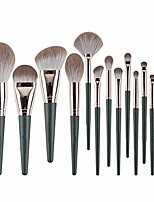 cheap -makeup brushes- makeup brush set log brush handle comfortable and easy grip aluminum tube not easily deformed brush pack, 14 pcs (color : a, size : 14 pcs)