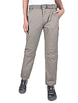cheap -women's convertible hiking pants lightweight durable zip off cargo pants with zipped pockets (light gray, 32)