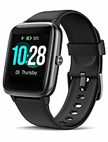 cheap -fitness tracker, fitness watch with heart rate monitor waterproof ip68 1.3'' color screen smartwatch, stopwatch, step counter, sleep monitor activity tracker for men women kid (black 2)