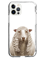 cheap -Animal Case For Apple iPhone 12 iPhone 11 iPhone 12 Pro Max Unique Design Protective Case with Screen Protector Shockproof Back Cover TPU