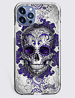 cheap -Cool Skulls Case For Apple iPhone 12 iPhone 11 iPhone 12 Pro Max Unique Design Protective Case Shockproof Back Cover TPU