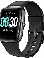 cheap -smart watch uwatch3 fitness tracker, smart watch for android phones, activity tracker smartwatch for women men kids, with sleep monitor all-day heart rate 5atm waterproof