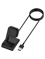 cheap -Charging Dock for Fitbit Versa 3/Sense Smart Watch Charger Cable USB Charging Data Cradle for Fitbit sense Charger Stand