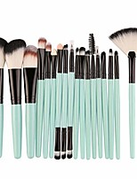 cheap -18pcs makeup brushes set profesional foundation blusher eyeshadow lips make up brush cosmetic set kit,a