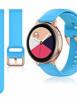 cheap -20mm band compatible with samsung galaxy watch active / active 2 40mm & 44mm / galaxy watch 3 41mm / galaxy watch 42mm / gear sport / gear s2 classic, rose gold watch buckle