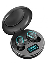 cheap -A10 TWS Bluetooth 5.0 Wireless HiFi In-Ear Earphones with Digital Charging Box Touch Control True Wireless Sports Earbuds