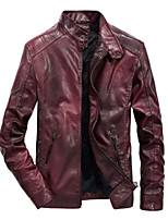 cheap -galaxy 2 star-lord guardians of the galaxy leather jacket, faux, maroon - m
