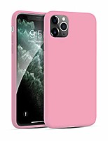 cheap -smoothtouch case for iphone 11 pro-max, 3-layer shockproof silicone case for iphone 11 pro-max, iphone 11 pro-max cases for women and men, pink -