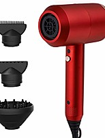cheap -professional hair dryer of negative ionic,lightweight travel hairdryers with 3 speeds,nozzle and diffuser attachment,red