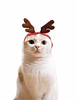cheap -fundiscount dog elk reindeer antler headband - dress up christmas costume for dogs & cats - cute adorable pet hair bands accessories xmas holiday headwear puppy kitten hat cap