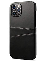 cheap -compatible with iphone 12 pro wallet case, ultra slim pu leather back cover protective phone case with credit card holder 6.1 inches, blue