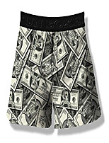 cheap -i like big bucks (money) men's boxer short - m