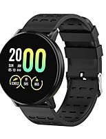 cheap -Y19 1.3in 2.5d Glass Touch Screen Blood Oxygen Heart Rate Monitor Smart Watch