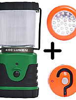 cheap -camping lantern with a powerful 400 lumens electric led lamp. including an accessory : portable magnetic led light. (1 lantern + 1 magnetic led)