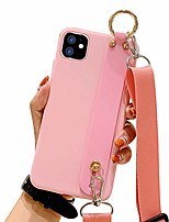 cheap -compatible iphone 12 pro max case for girls women iphone 12 pro max case with kickstand slim tpu bumper shockproof design with lanyard iphone 12 pro max case with ring holder 6.7 inch-pink