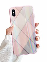 cheap -compatible iphone x case for girl women,  9h tempered glass back cover [anti-scratch] soft tpu bumper [slim thin] cute girly glitter shockproof protective phone case cover for iphone x(pink)