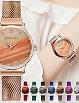 cheap -Women's Quartz Watches Quartz Stylish Luxury Casual Watch Analog Rose Gold Black Blue