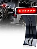 cheap -led third brake lights w/clear lens high mount stop tail light for 2007-2018 jeep wrangler jk