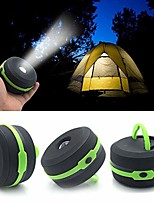 cheap -portable camping lantern usb led hiking night light lamp collapsable flashlight (green)