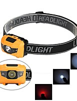 cheap -headlamp,suppion r3 2led mini headlight headlamp flashlight 4 mode super bright torch light (yellow)