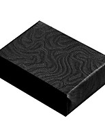 cheap -swirl black cotton filled jewelry boxes #11 - pack of 100