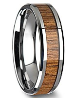 cheap -stainless steel ring with teak wood inlay (9)