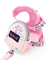 cheap -Dog Cat Harness Vest Adjustable Flexible Breathable Durable Outdoor Walking Flower Cotton Corgi Pug Bichon Frise Schnauzer Poodle Chihuahua Blue Pink Gray 1pc