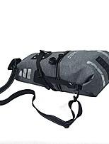 cheap -waterproof bag large capacity 15l saddle bag tpu bike bag (gray)