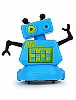 cheap -magic inductive robot toy follow black line robot eye with led light educational toys for kids children