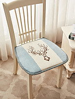cheap -Chenille European Style Retro Seat Cushion Jacquard Thickened Chair Cushion Home Office Bedroom Home Use Dining Table Chair Cushion Contain Pillow Core