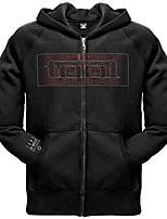 cheap -tool - mens red face zip hoodie - large black