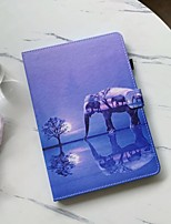 cheap -Case For Samsung Tablet Samsung Tab A 8.0(2019)T290/295 Shockproof Full Body Cases Animal PU Leather / TPU